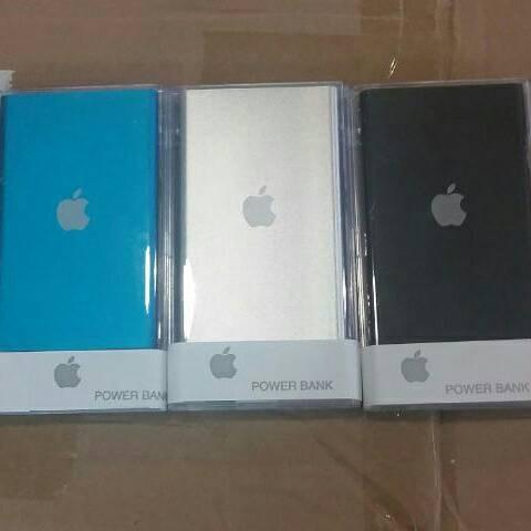 harga Powerbank slim apple 99.000mah Tokopedia.com