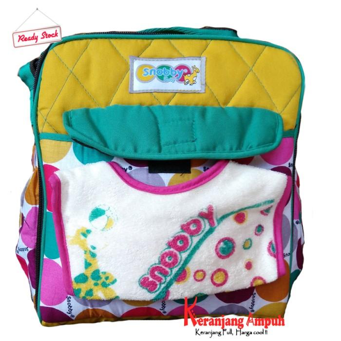 Tas Bayi Kecil Saku Colours Marbles TPT - 1573