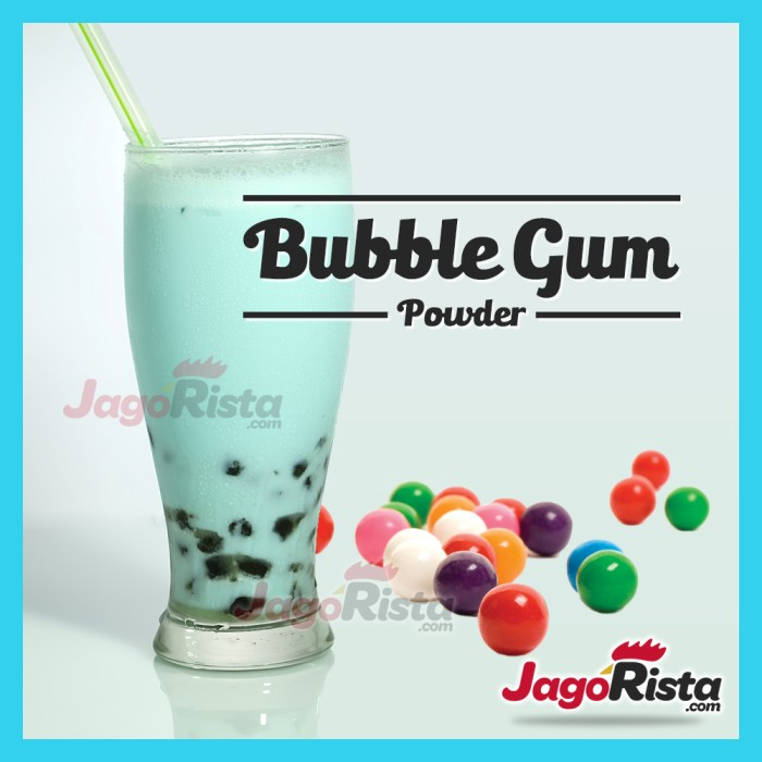 (200gr) Premium Bubble Gum ( Bubuk Minuman / Bubble Drink Powder )