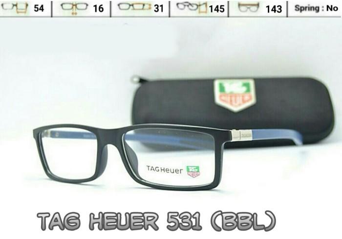Jual Frame Kacamata Gaya Tag Heueur 531 - Male Female - Baca Min ... ccf3a83785