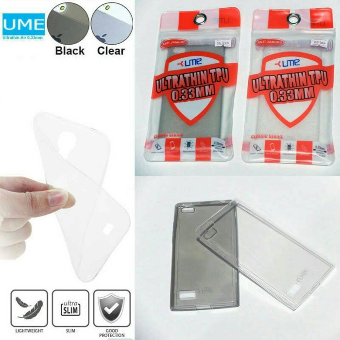 harga Ume ultrathin soft cover silikon sarung case 0.3mm bb blackberry leap Tokopedia.com