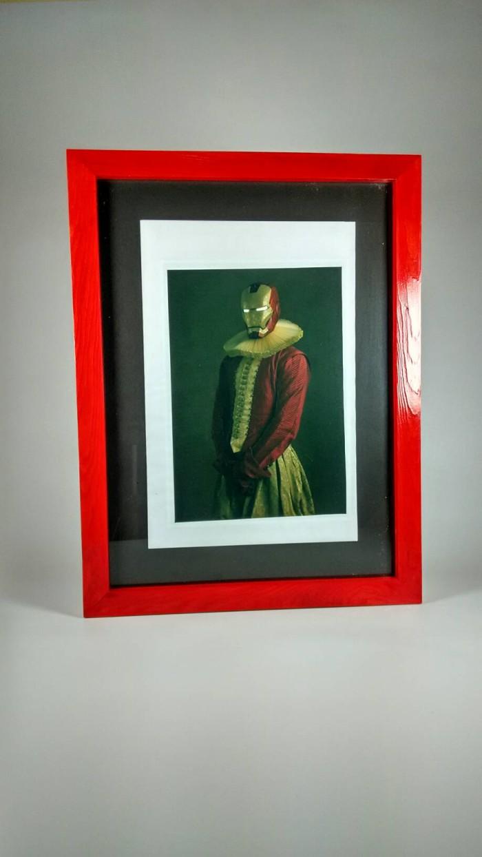 Jual Pigura Frame Bingkai 3D Kayu Jati Belanda F5038 25 25 BNW Kota Malang ArtCreativ