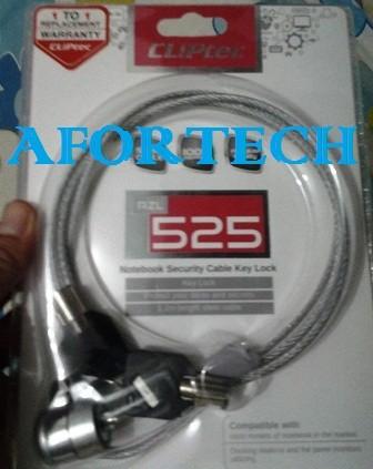harga Security lock cliptec kunci laptop/notebook cliptech kunci putar Tokopedia.com