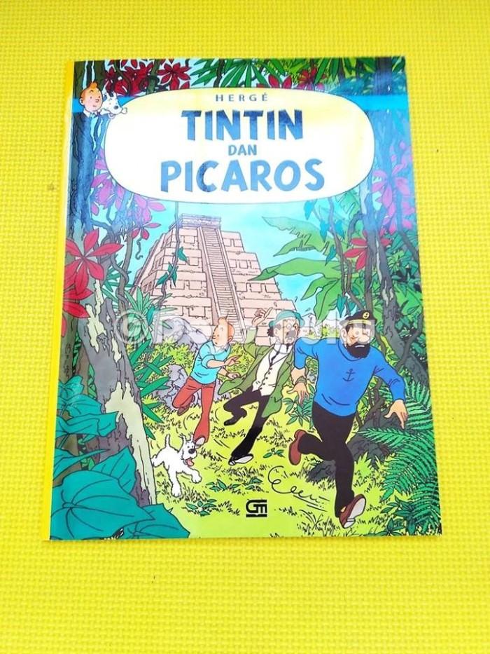 harga Tintin dan picaros ( petualangan tintin ) Tokopedia.com