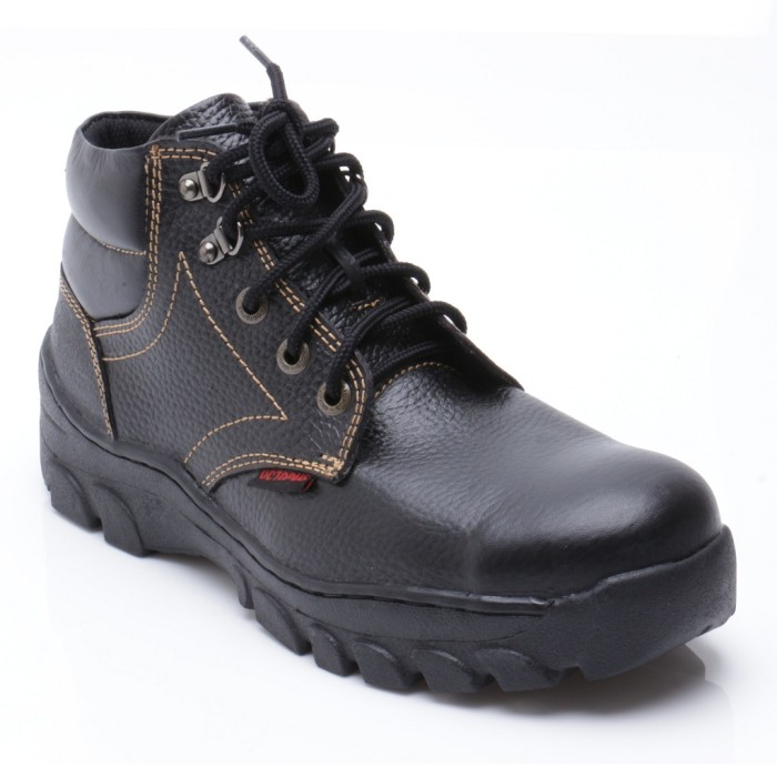 Octopus Sepatu Safety Industrial/ Safety Shoes OX 508 - Hitam