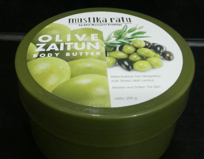 harga Mustika ratu body butter zaitun 200 g Tokopedia.com