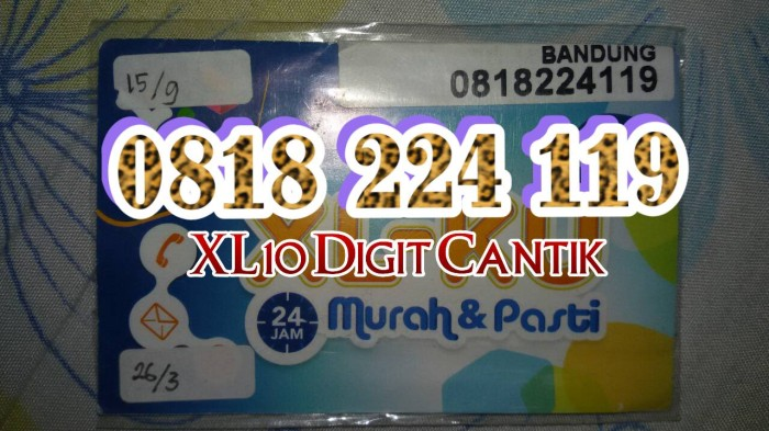 Katalog Xl 10 Digit Rapih Hargano.com