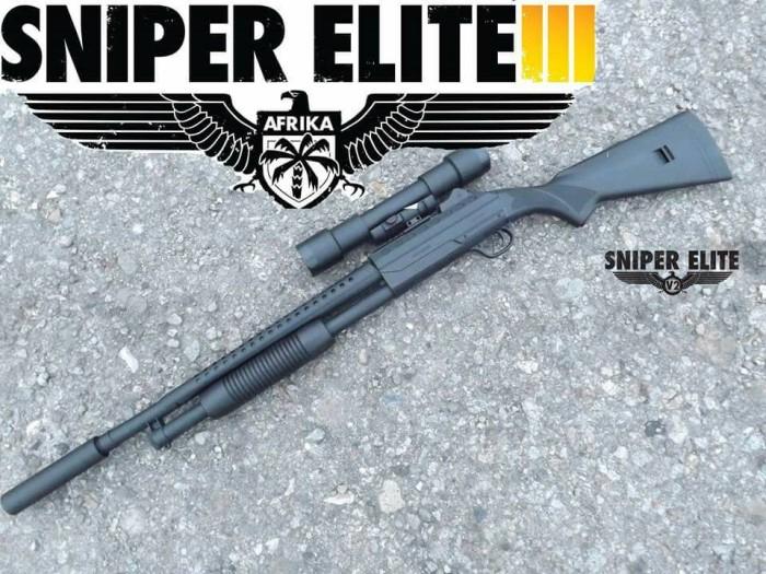 Jual Airsoft Gun Sniper Murah Kota Medan Tembak Tokopedia
