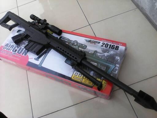 Jual Airsoft Gun Sniper M82 Box Murah Kota Medan Tembak Tokopedia