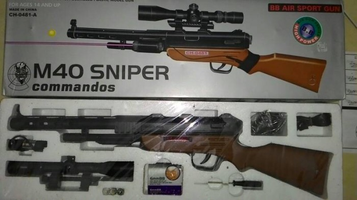Jual Airsoft Gun Sniper M40 Murah Kota Medan Tembak Tokopedia