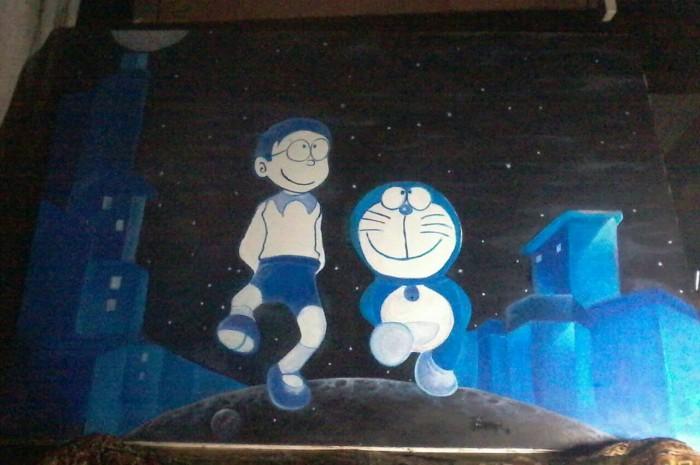 Jual Lukisan Doraemon Dan Nobita Kota Salatiga Dhia Shop