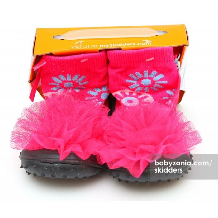 harga Skidders rubber flexible shoes - pink flower Tokopedia.com