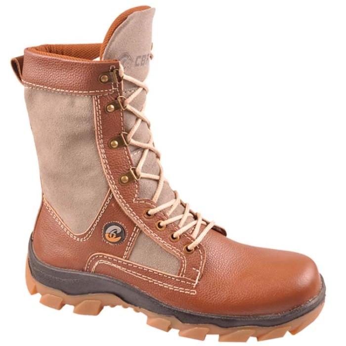 Sepatu touring pria sepatu biker laki-laki boot outdoor jungle ec0ae4e24b