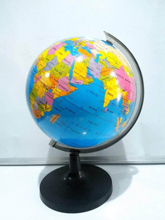 harga Bola dunia, globe meja 18.2cm murah grosir import Tokopedia.com