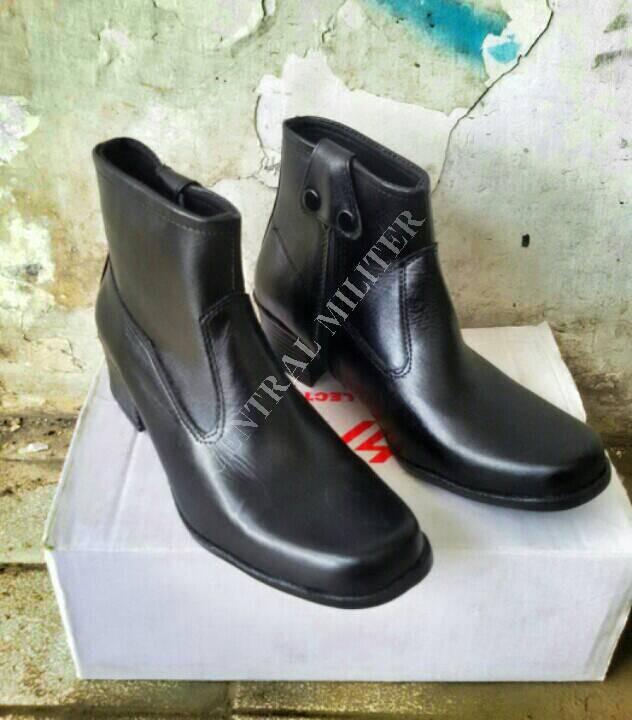 harga Sepatu boot cewek/polwan Tokopedia.com