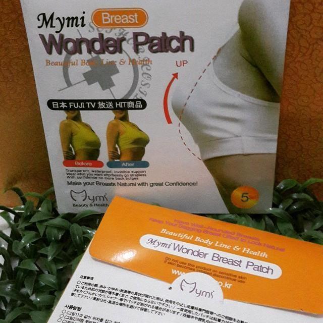 MYMI Breast Wonder Patch (Isi 10 Lembar) / Masker Payudara MYMI 1