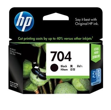 harga Hp 704 black tinta printer Tokopedia.com