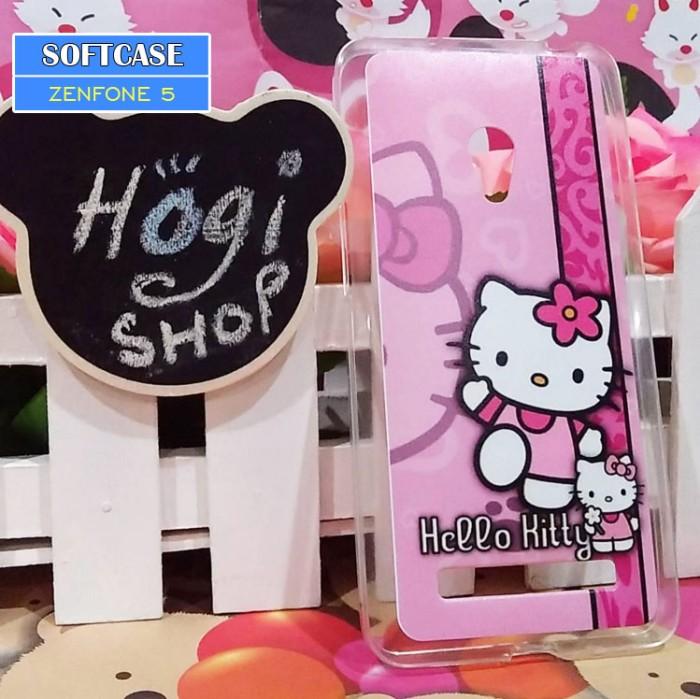 the best attitude 3bbb9 edca2 Jual Asus Zenfone 5 - Softcase Custom Case Softclear Hello Kitty - Kota  Surabaya - hogishop | Tokopedia