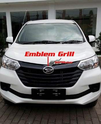 Foto Produk Emblem Logo Lambang Grill Daihatsu Great New Xenia Depan dari SIPMotor
