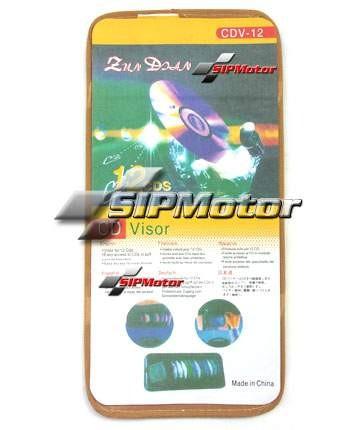 Foto Produk Tempat CD Visor Mobil 12 Slot Krem dari SIPMotor