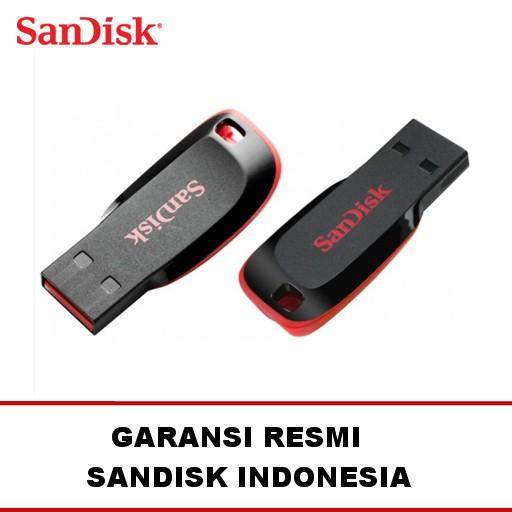 USB FD Flash Disk Drive FlashDisk SanDisk Cruzer Blade 8GB Original