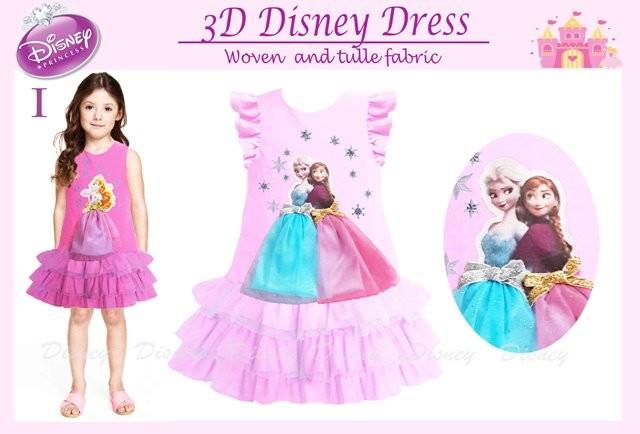 harga Dress frozen 3d - merk disney Tokopedia.com
