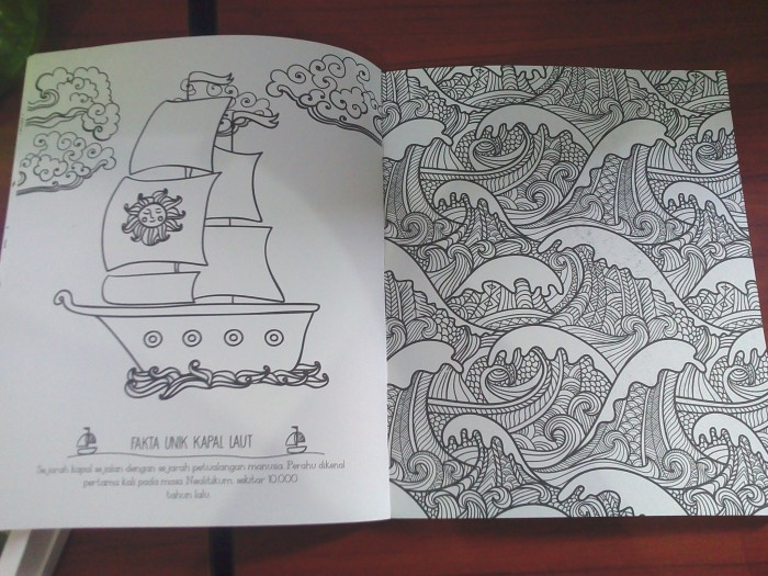 Paket My Own World 3 Dan Travel Size Coloring Book For Adults