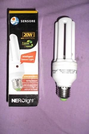 harga Lampu plc 20 watt sensor cahaya nerolight   otomatis nyala / mati Tokopedia.com