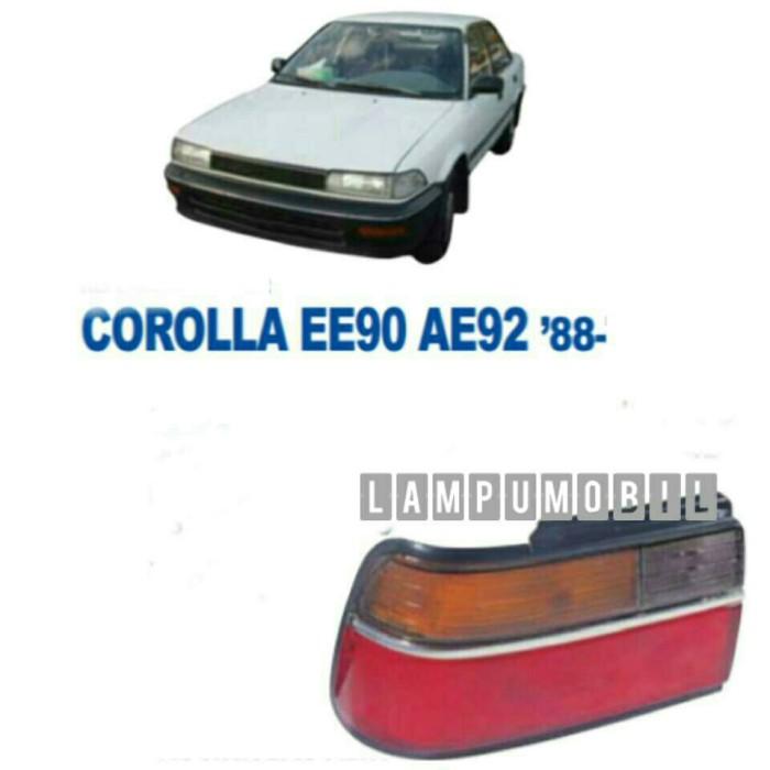 harga Lampu belakang toyota corolla twincam ae92 1988-1990 Tokopedia.com