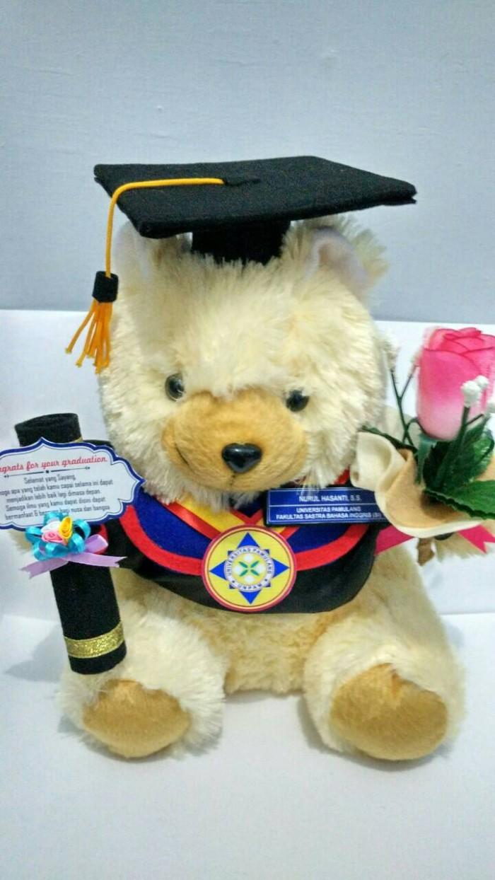 harga Boneka wisuda universitas pamulang + bucket bunga Tokopedia.com