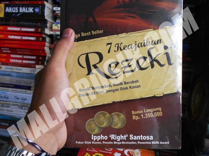 harga ( buku diskon akhir tahun ) buku 7 keajaiban rezeki by ippho santosa Tokopedia.com