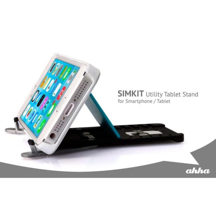Ahha simkit & table stand tabletsmartphone space grey