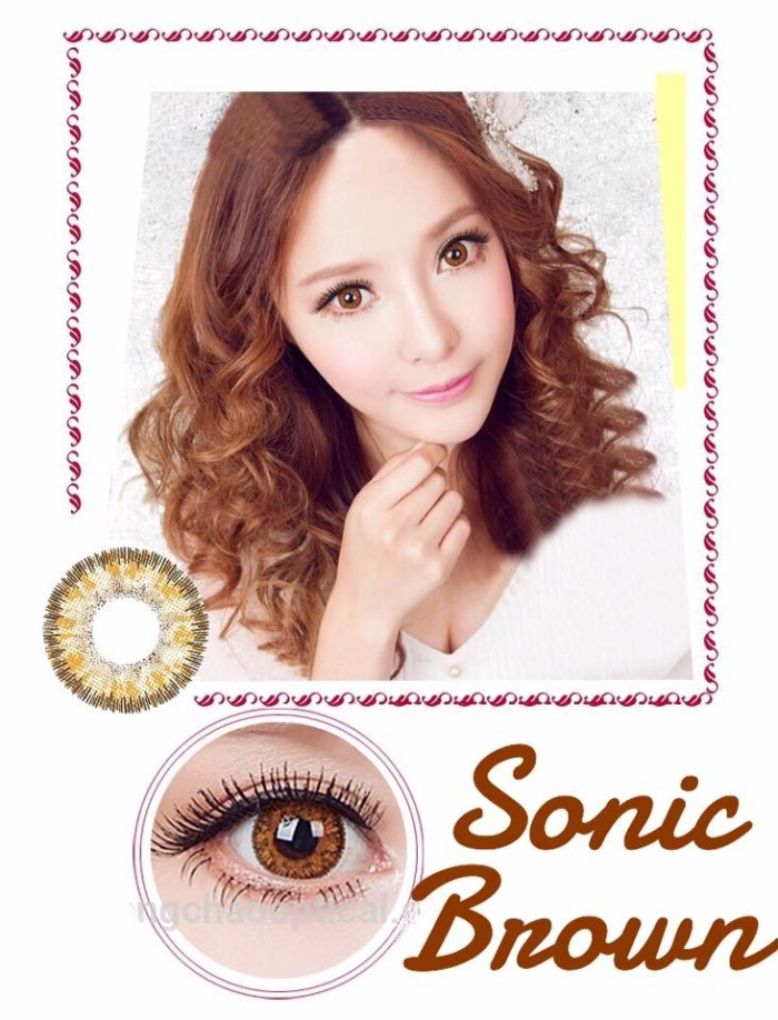 harga Dreamcon / dreamcolor sonic 14.5 mm - brown Tokopedia.com