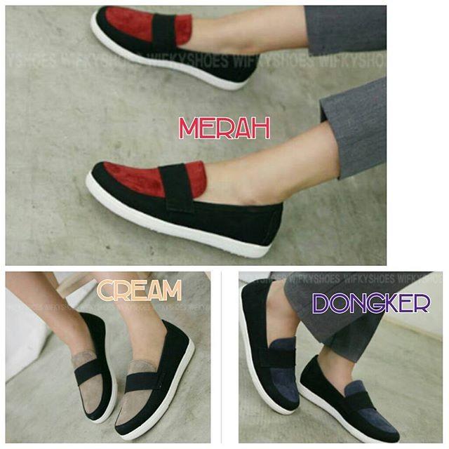 Jual Sepatu Flatshoes Wanita Simply 3 Warna Pusat Reseller Sepatu ... 5e9cb9de2e