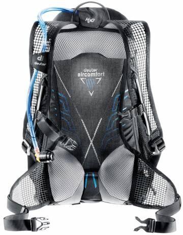 DEUTER Race EXP Air (Black-White) Tas Ransel Sepeda Backpack