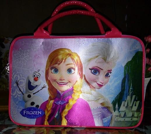 Tas koper canvas besar frozen