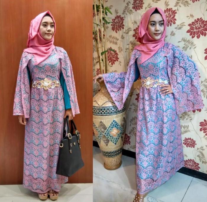 Jual Gamis Renda Syahrini Zakiyya Hijabmart Tokopedia