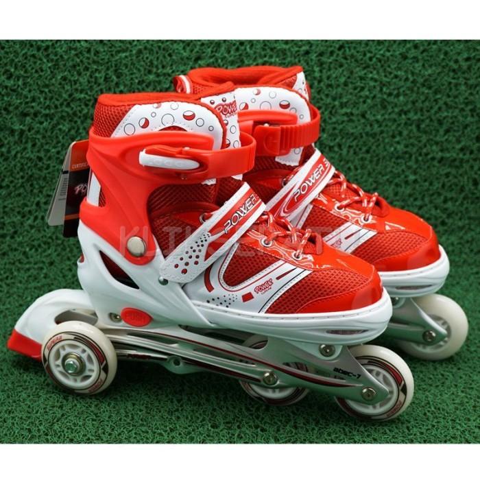 Cool Slide Sepatu Roda Inline Ban Full Karet Merah Sepaturoda ... Source .