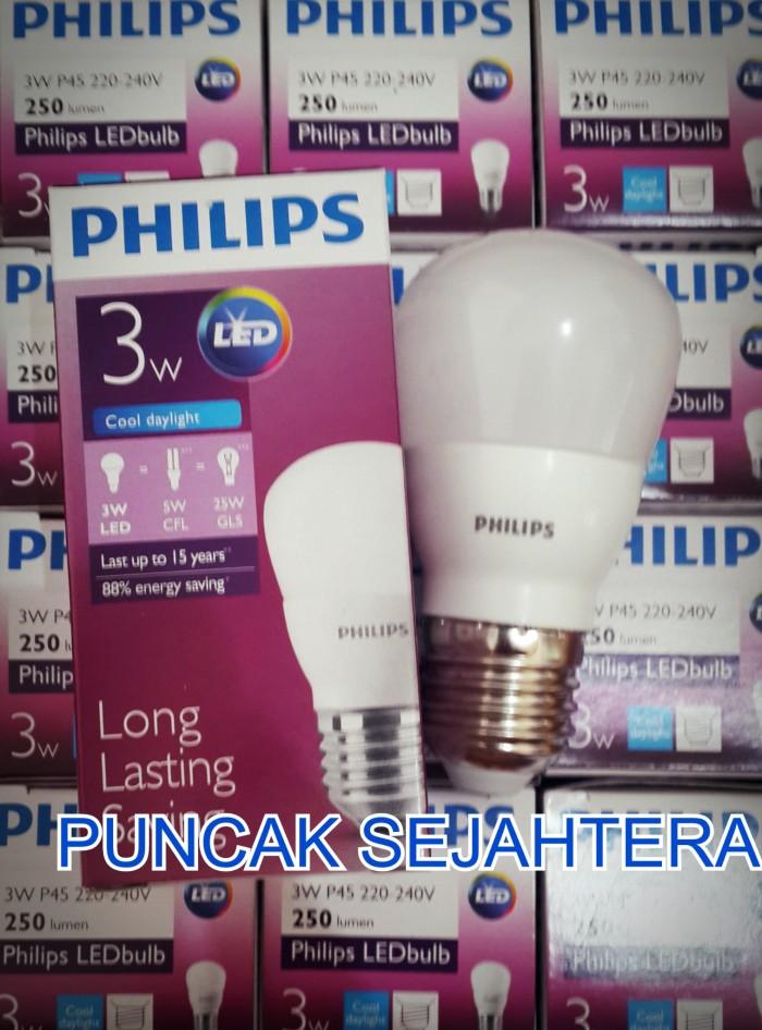 Jual Lampu Philips LED 3w 3 Watt Putih