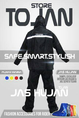 harga Jas hujan stelan dan jas sepatu pelindung hujan tojan Tokopedia.com