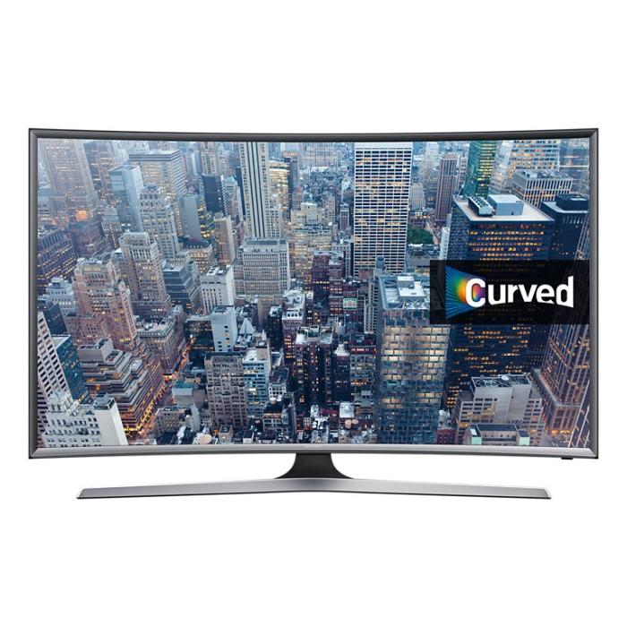 harga Samsung - led tv smart curved 55  silver - ua55j6300 Tokopedia.com