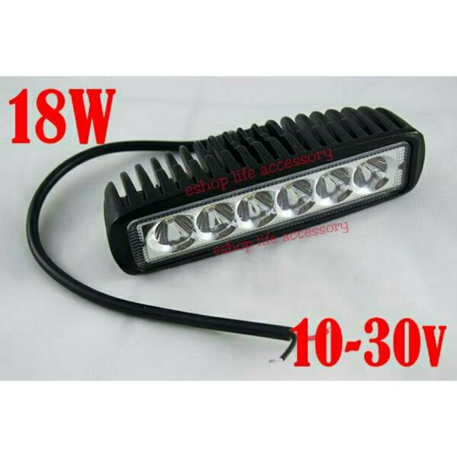 harga Led bar lampu sorot tembak offroad drl work light  led mobil motor Tokopedia.com