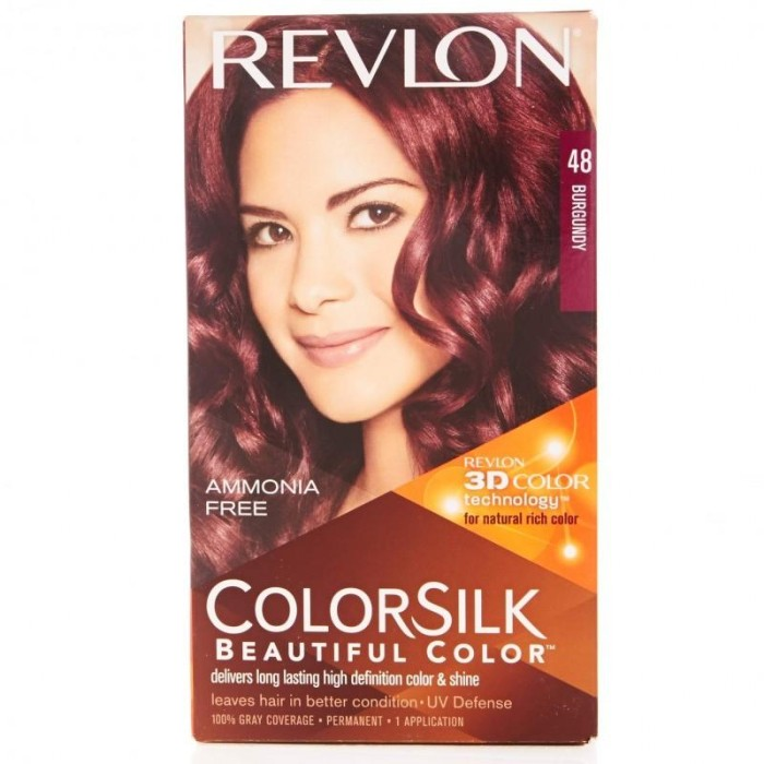 Revlon - cat rambut warna Burgundy