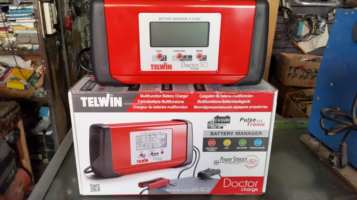 harga Trafo battery charger accu multifungsi telwin doctor charge auto 50 Tokopedia.com