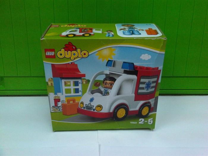 Jual Lego Duplo 10527 Ambulance Eti Gerard Toys Tokopedia