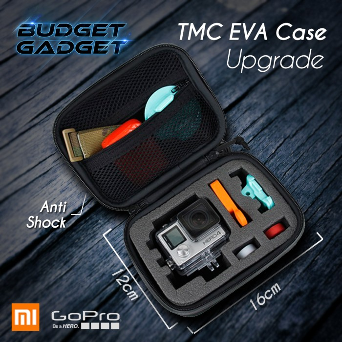 harga Tmc eva upgrade case for gopro & xiaomi yi - hr275 Tokopedia.com