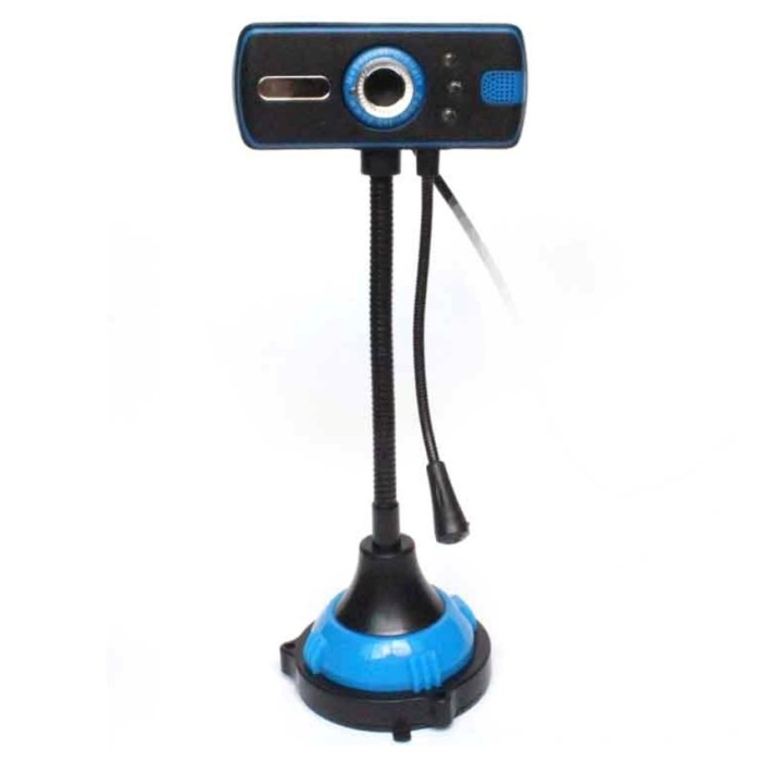 Snowwolf Webcam with Microphone and Night Vision G400 For Laptop - PC