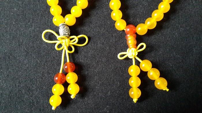 Yelwow (agate) - kalung gelang batu akik kuning