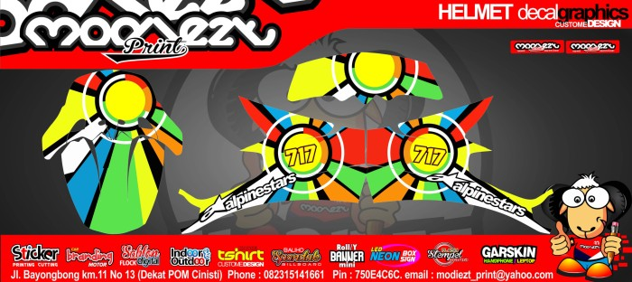 harga Decal helm klx gm snail kyt Tokopedia.com