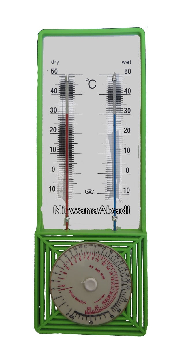 Foto Produk Thermometer Wet & Dry (Higrometer) dari Nirwana Abadi